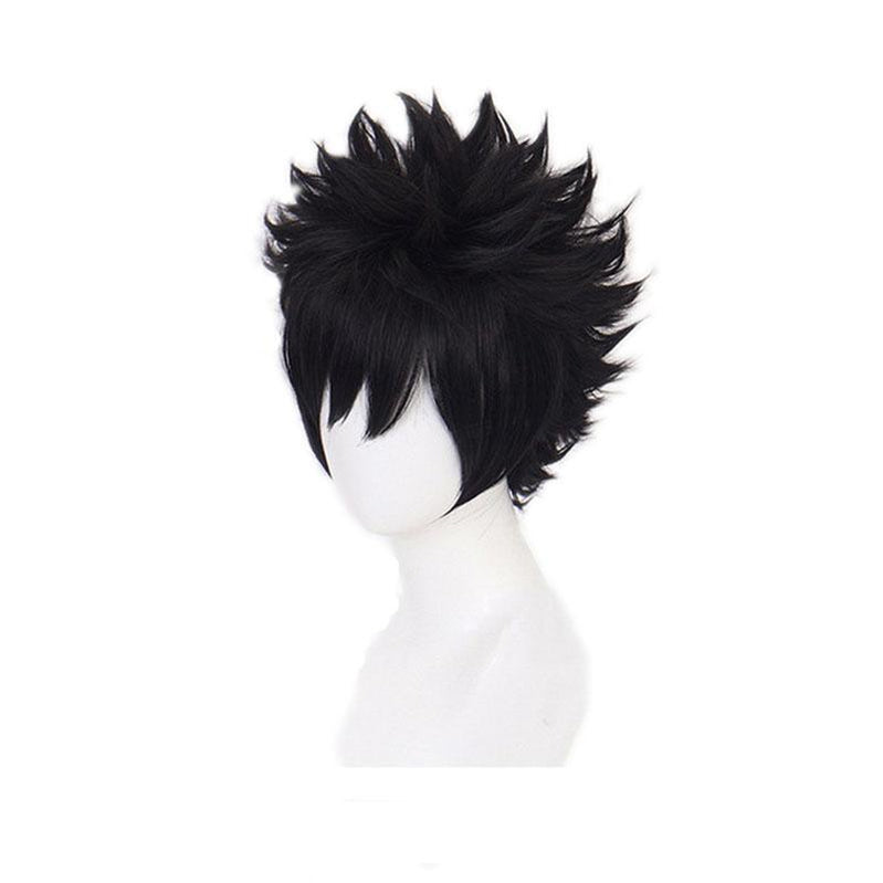Anime My Hero Academia Dabi Short Black Cosplay Wigs - Cosplay Clans