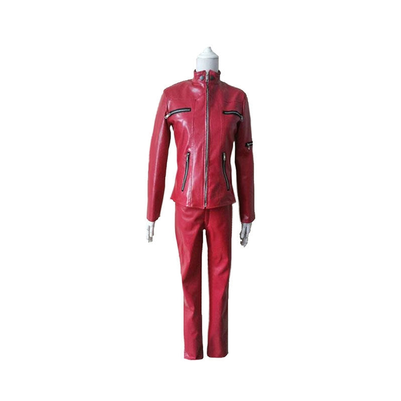 Anime Ghost In The Shell Kusanagi Motoko Red Cosplay Costume - Cosplay Clans