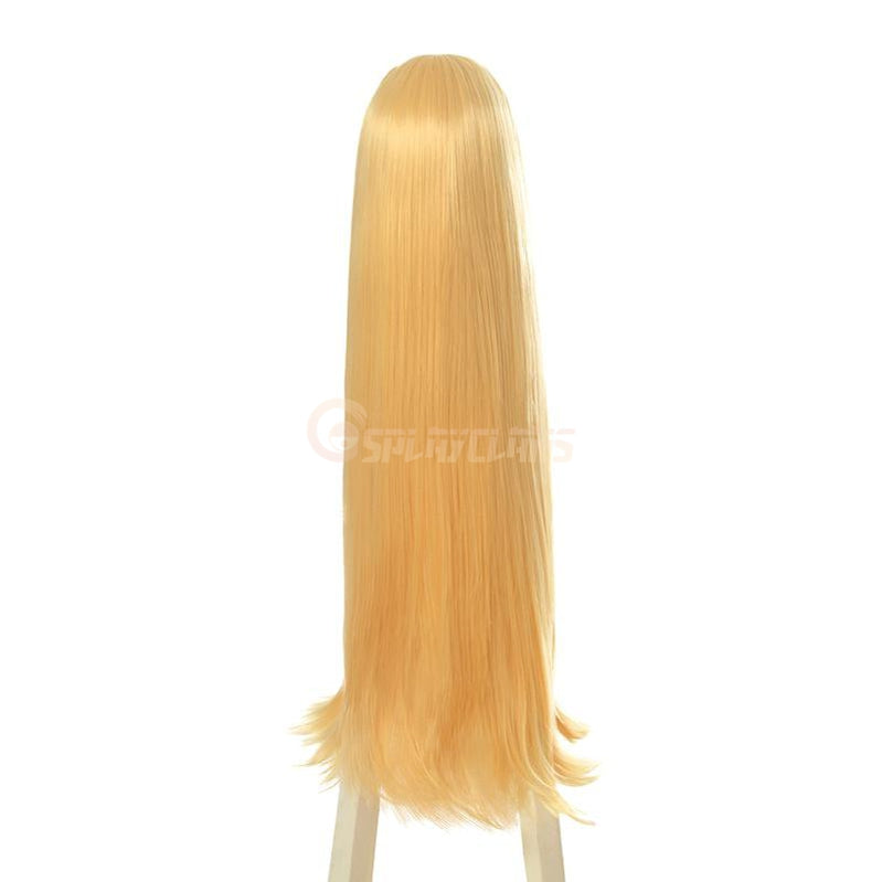 Anime The Rising of the Shield Hero Filo Blonde 90cm Long Straight Cosplay Wigs - Cosplay Clans