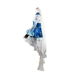 Vocaloid Hatsune Miku Snow Princess Dress Cosplay Costume - Cosplay Clans