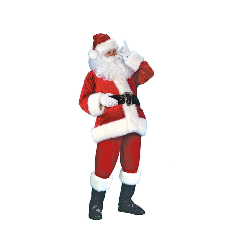 Christmas Santa Suit Adult Costume - Cosplay Clans