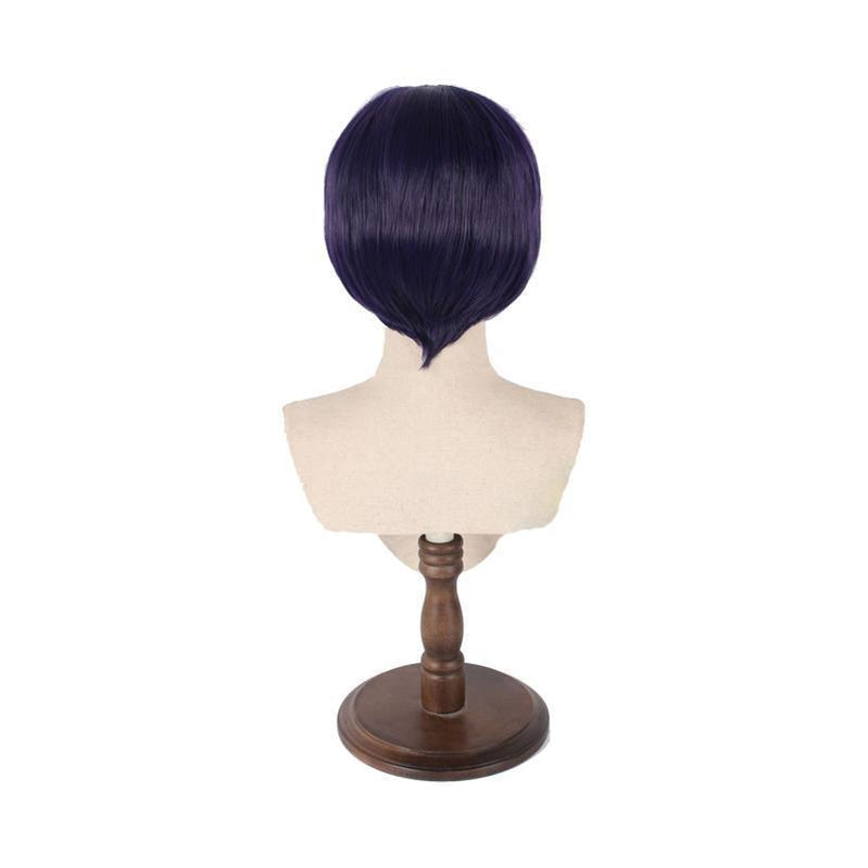 Anime My Hero Academia Kyouka Jirou Short Purple Cosplay Wigs - Cosplay Clans