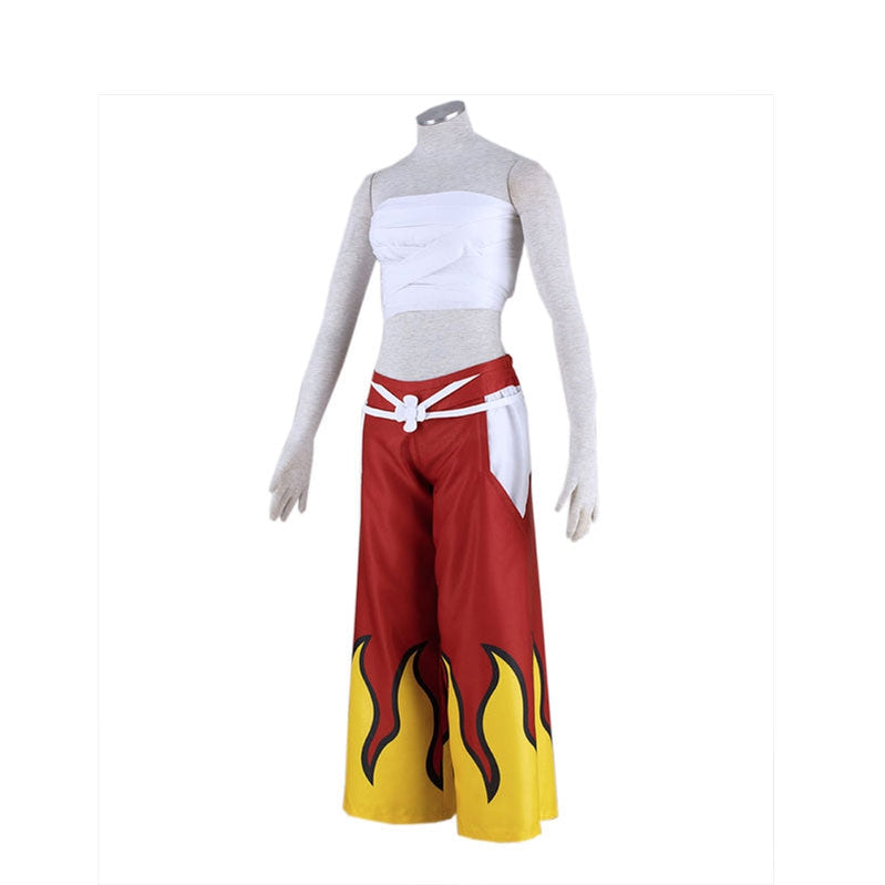 Anime Fairy Tail Erza Scarlet Red Female Cosplay Costume - Cosplay Clans