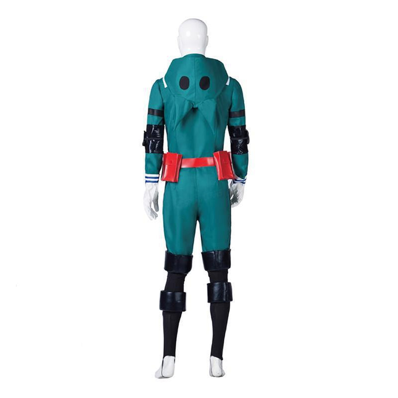 MHA My Hero Academia Midoriya Izuku Battle Suit Cosplay Costumes - Cosplay Clans