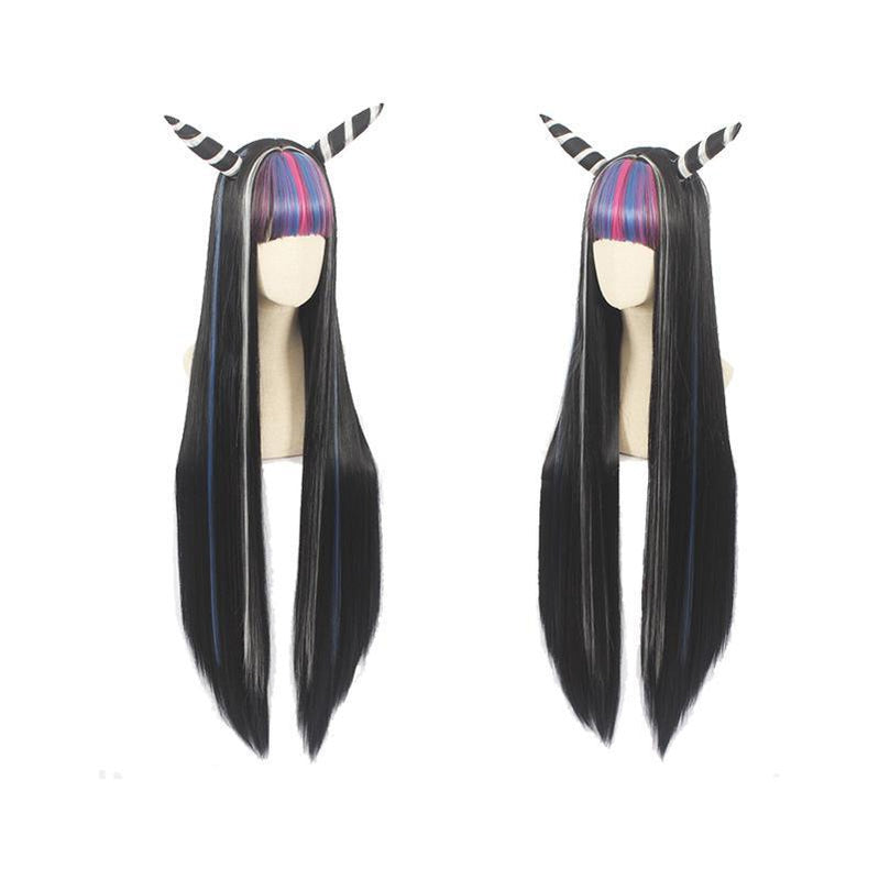 Anime Danganronpa: Trigger Happy Havoc Mioda Ibuki 100cm Long Straight Cosplay Wigs - Cosplay Clans