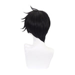 Anime The Promised Neverland Ray Short Black Cosplay Wigs - Cosplay Clans