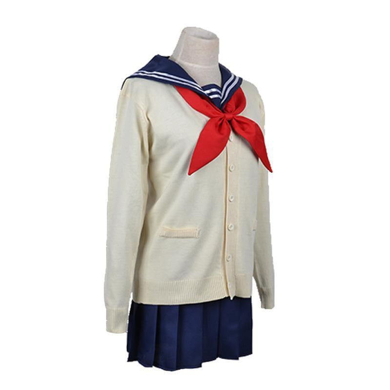 Anime My Hero Academia Himiko Toga JK School Uniform Cosplay Costume - Cosplay Clans