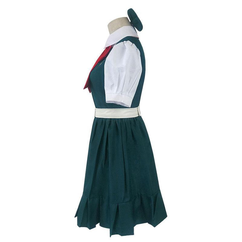 Danganronpa 2 Sonia Nevermind Halloween Short Sleeve Uniform Cosplay Costumes - Cosplay Clans
