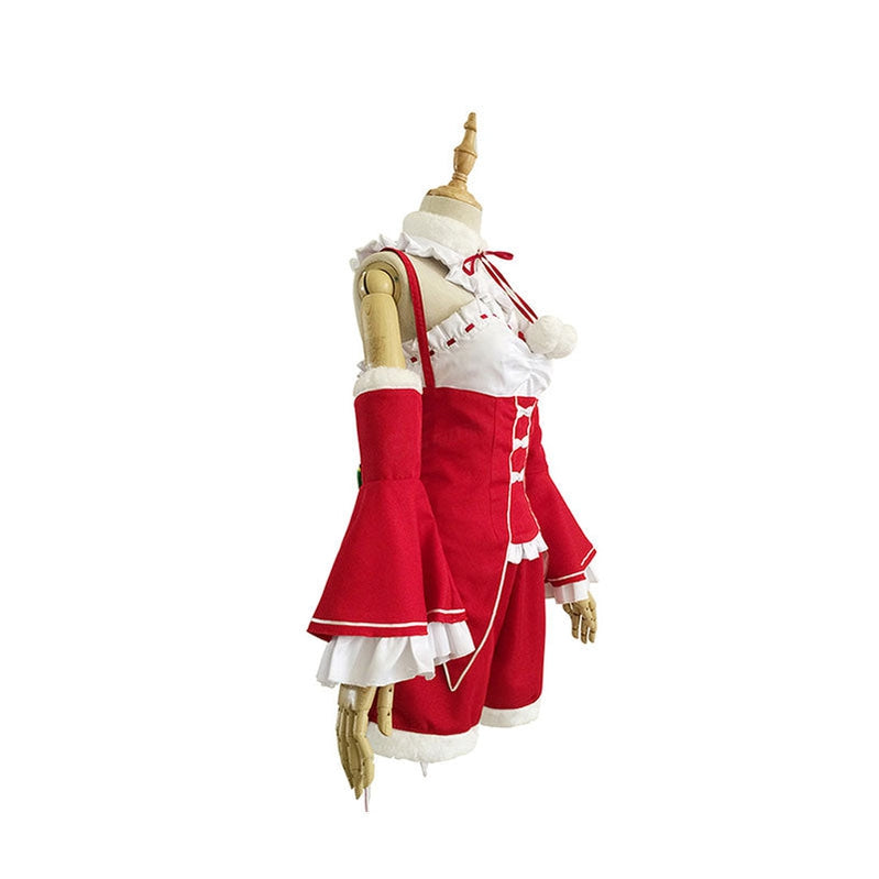 Anime Re:Zero Starting Life in Another World Rem Christmas Cosplay Costume - Cosplay Clans