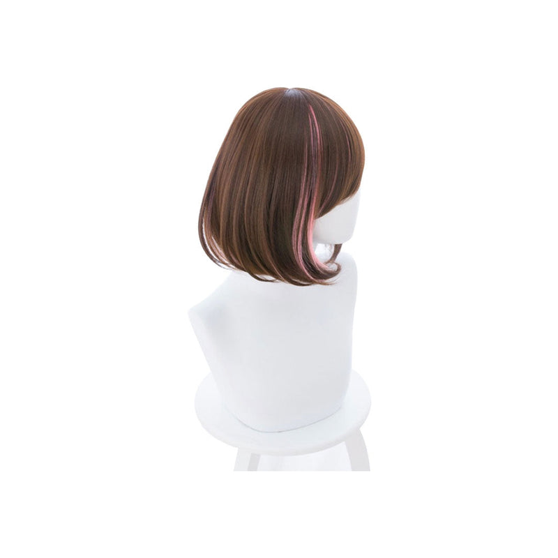 Virtual YouTuber Kizuna AI Short Brown Halloween Cosplay Wig - Cosplay Clans