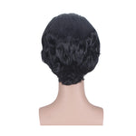 Anime Yuri on Ice Yuuri Katsuki Short Black Cosplay Wigs - Cosplay Clans