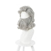 Movie The Christmas Chronicles 2 Santa Claus Silver Cosplay Beard and Wigs - Cosplay Clans