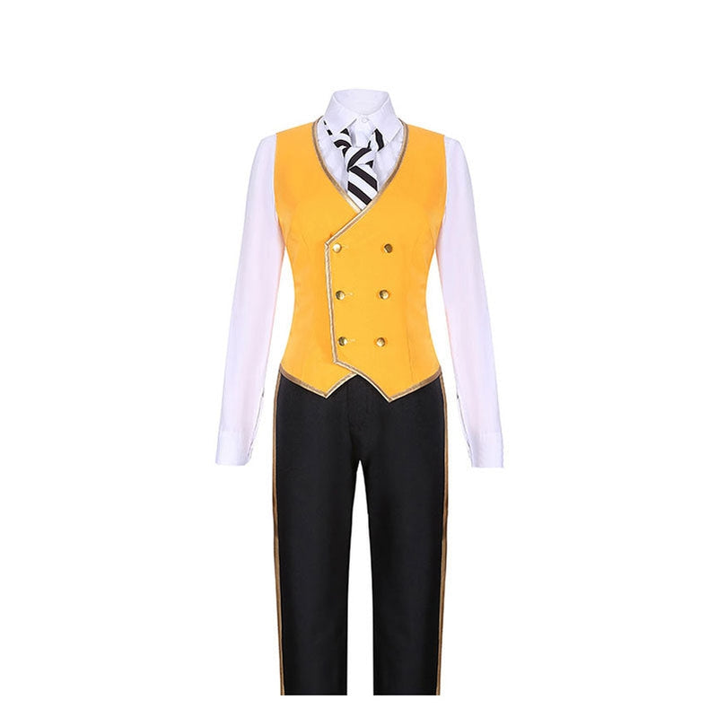Game Twisted-Wonderland Ruggie Bucchi Uniforms Cosplay Costume - Cosplay Clans