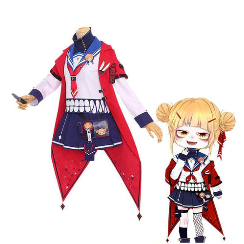 Anime My Hero Academia Himiko Toga Casual Clothes Cosplay Costumes - Cosplay Clans