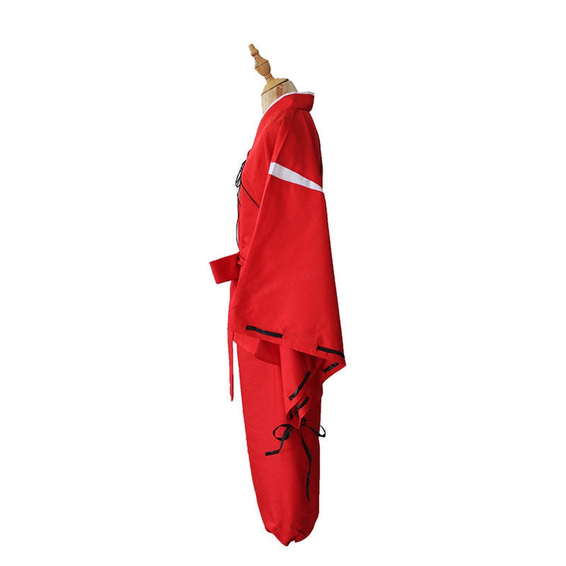 Anime Inuyasha Inuyasha Red Cosplay Costume - Cosplay Clans