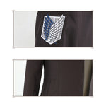 Anime Attack on Titan Levi Ackerman Coat Cosplay Costume - Cosplay Clans