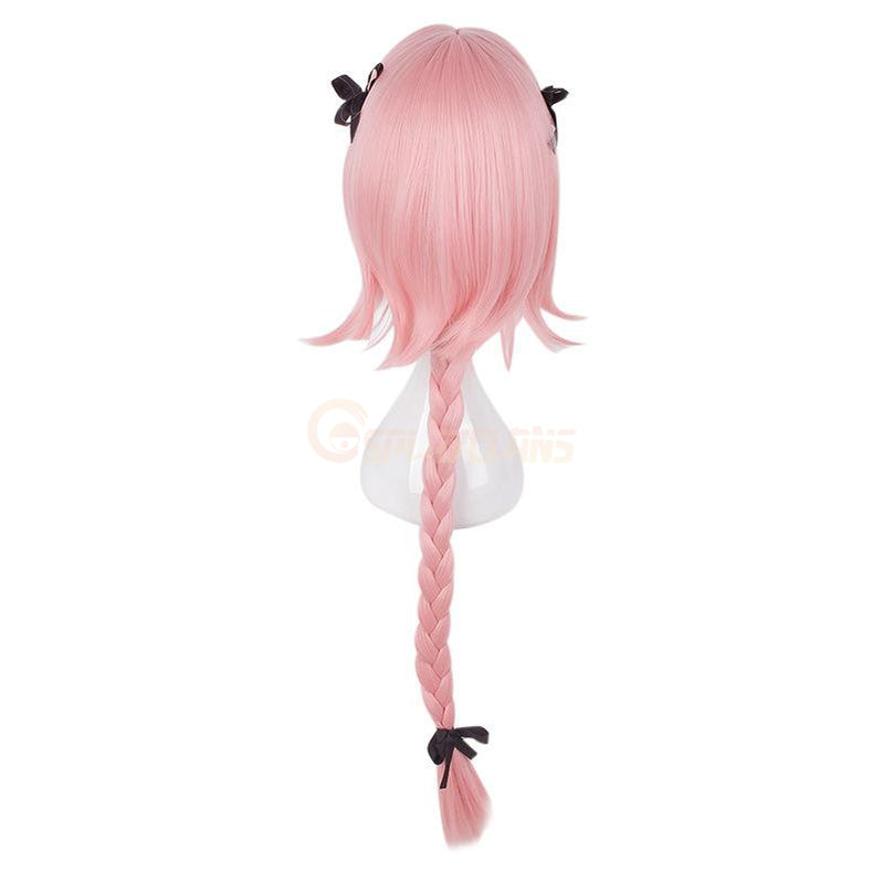FGO Fate/Grand Order Astolfo Sailor Pink Long braid Cosplay Wigs - Cosplay Clans