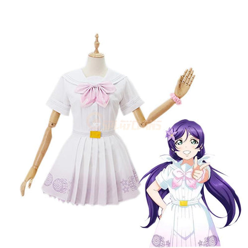 LoveLive! Tojo Nozomi and μ's All Members A Song for You You You Uniform Cosplay Costume - Cosplay Clans