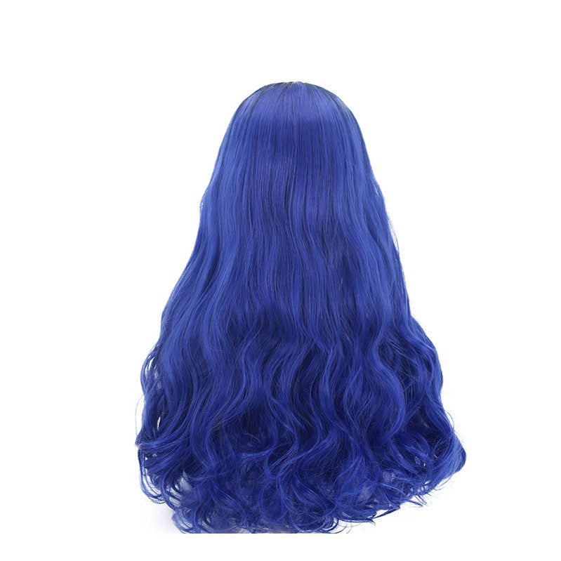 Movie Descendants 3 Evie Blue Cosplay Wigs - Cosplay Clans