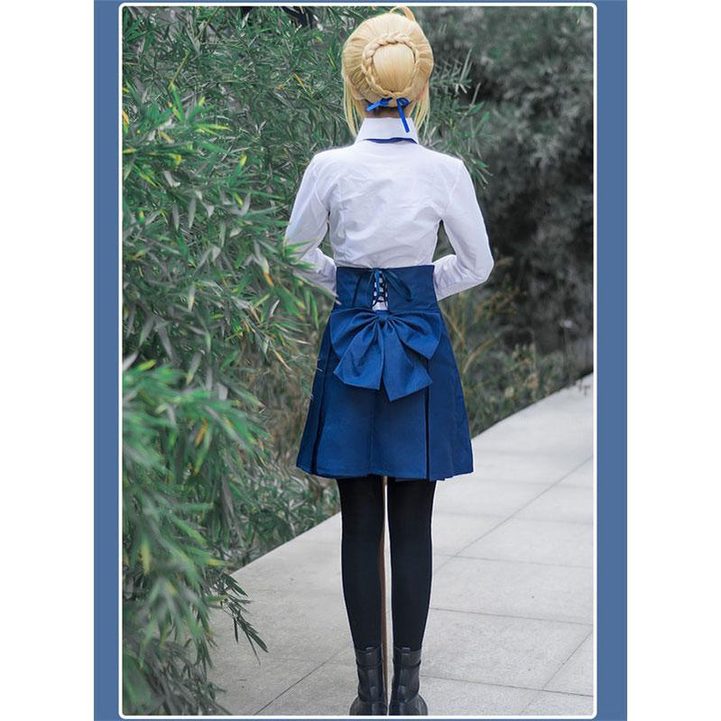 FGO Fate Stay Night Saber Sailor Uniforms Dress Halloween Cosplay Costumes - Cosplay Clans