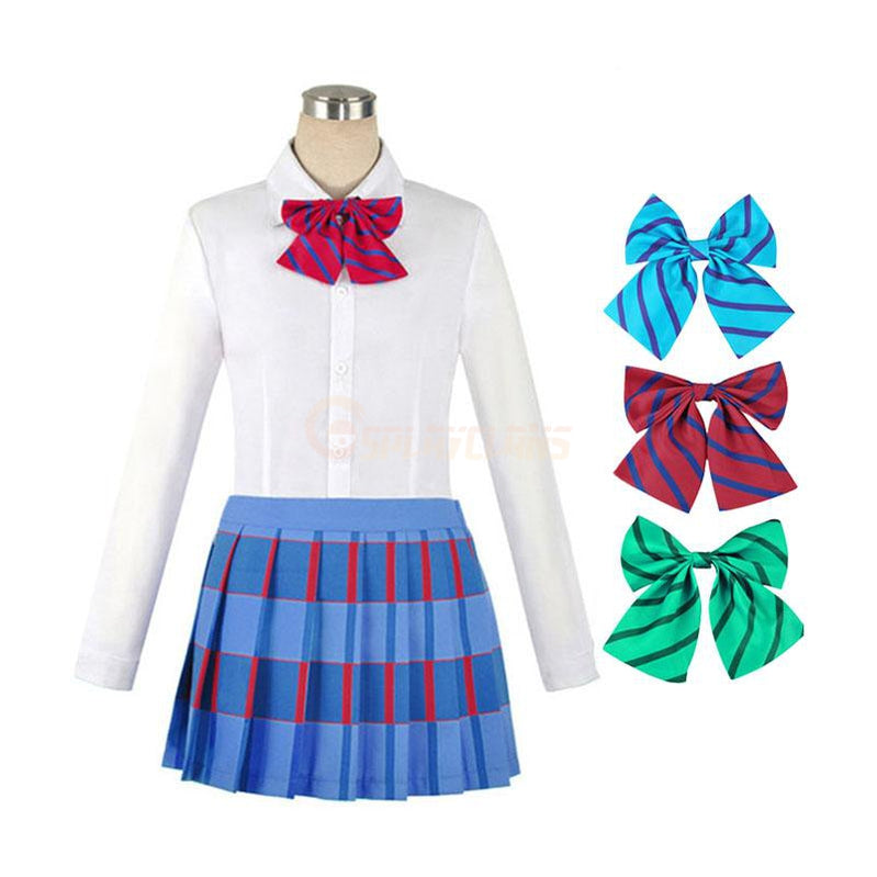 Anime LoveLive! Kousaka Honoka School Uniform Cosplay Costume - Cosplay Clans