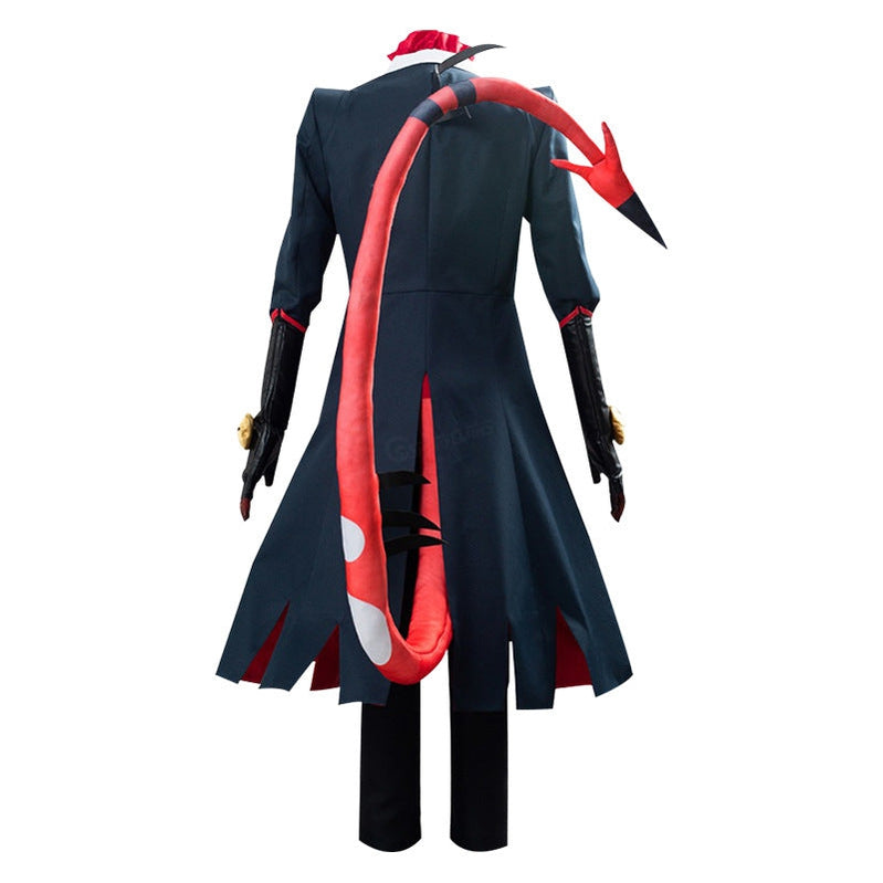Hazbin Hotel Blitzo Uniform Outfit Full Set Halloween Cosplay Costumes - Cosplay Clans
