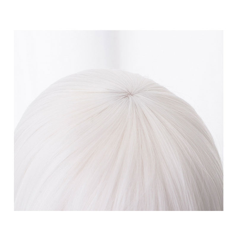 Anime Re:Zero Starting Life in Another World Echidna Witch of Greed Long Straight White Cosplay Wigs - Cosplay Clans