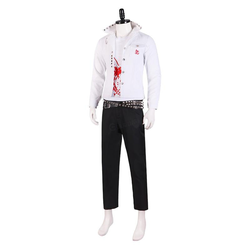 Anime Danganronpa: Trigger Happy Havoc Leon Kuwata Uniform Cosplay Costumes(Customed) - Cosplay Clans