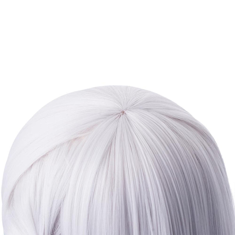 FGO Fate Grand Order Kama 55cm Long Silver Halloween Cosplay Wigs - Cosplay Clans