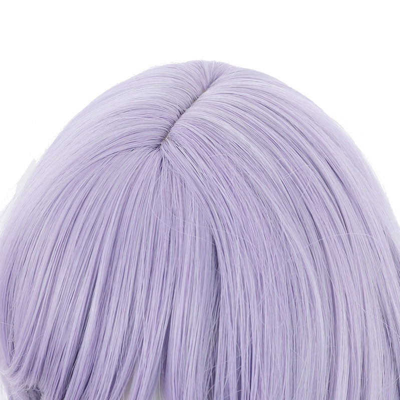 Game Genshin Impact QiQi Purple Braid Cosplay Wigs - Cosplay Clans