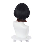 Anime Rent-A-Girlfriend Ruka Sarashina Short Black Gradient Brown Cosplay Wigs - Cosplay Clans