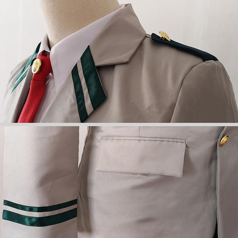 Anime My Hero Academia Female School Uniform Cosplay Costume - Cosplay Clans
