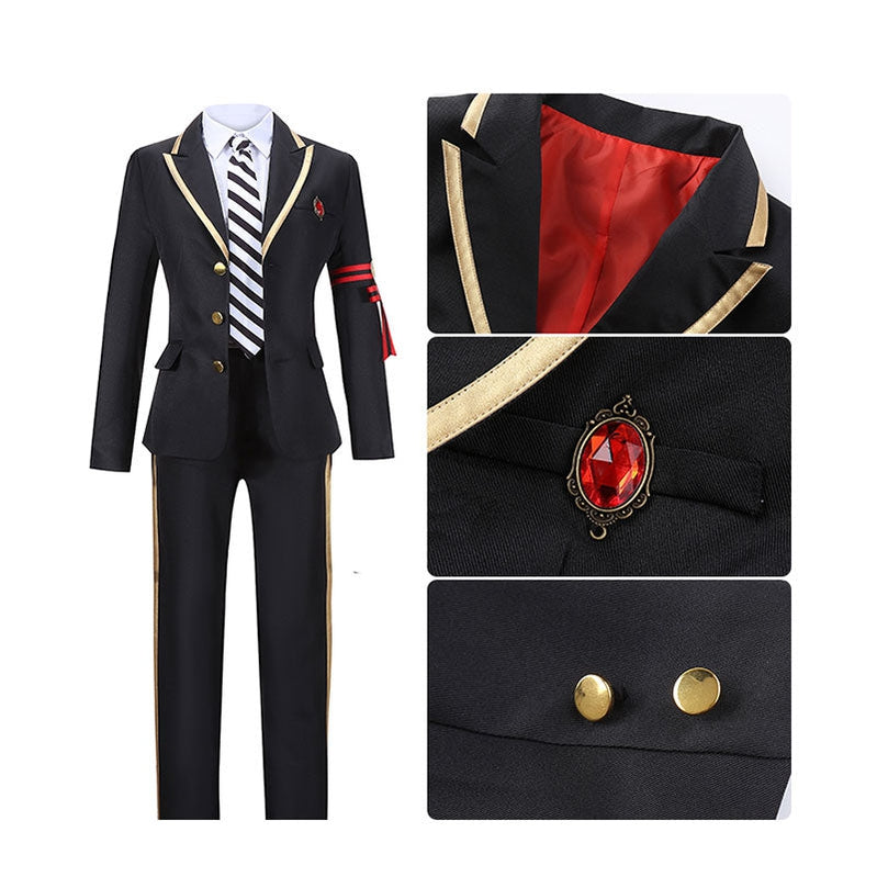 Game Twisted-Wonderland Cater Diamond Uniforms Cosplay Costume - Cosplay Clans