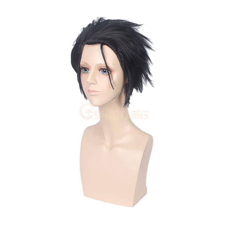 Anime Re:Zero Starting Life in Another World Subaru Natsuki Short Black Cosplay Wigs - Cosplay Clans