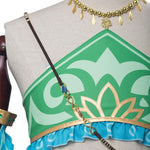 The Legend of Zelda Breath of the Wild Gerudo Link Halloween Cosplay Costume - Cosplay Clans