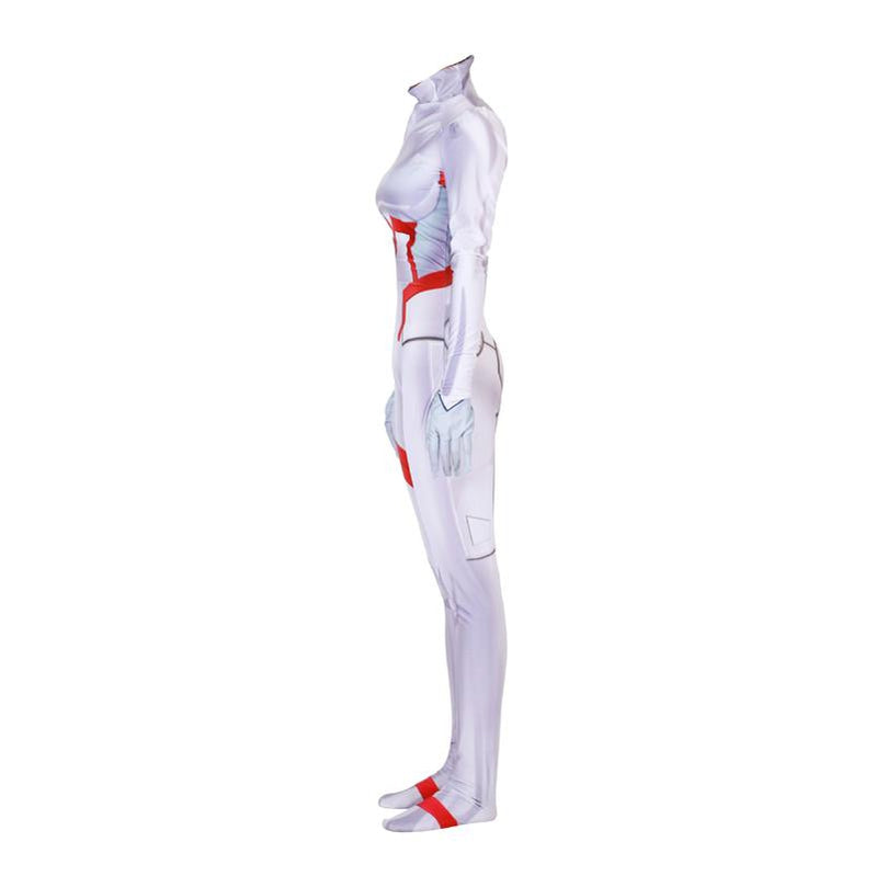 Anime DARLING in the FRANXX KOKORO Ichigo Miku ZOROME Combat Jumpsuit Cosplay Costumes - Cosplay Clans