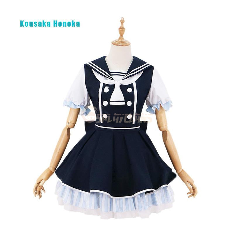 Anime LoveLive! Ayase Eli and μ's All Members Pirate Uniform Cosplay Costume - Cosplay Clans