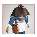 Anime Black Clover Asta Outfits Cosplay Costume with Free Magic Book Prop - Cosplay Clans