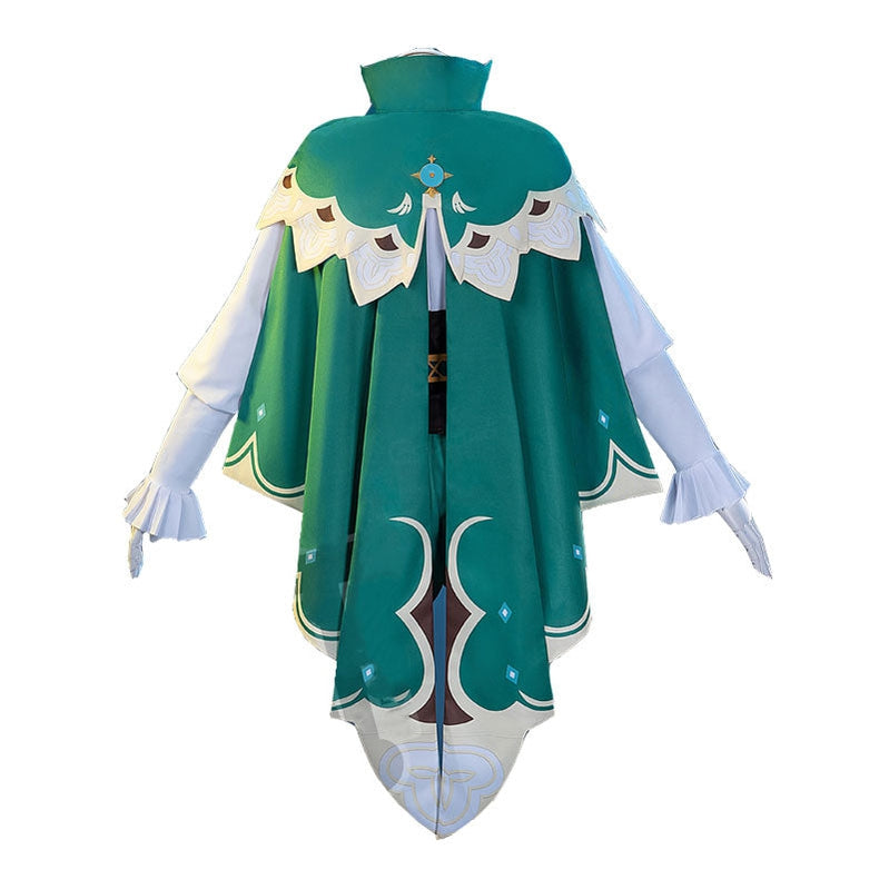 Game Genshin Impact Venti Gradient Full set Cosplay Costume - Cosplay Clans