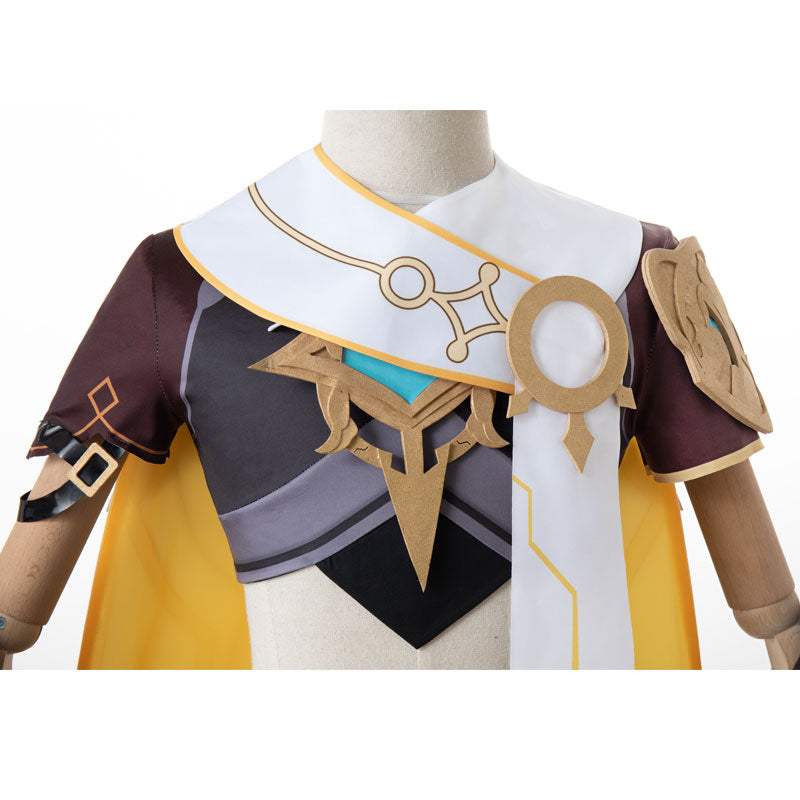 Genshin Impact Traveler Male Cosplay Costumes