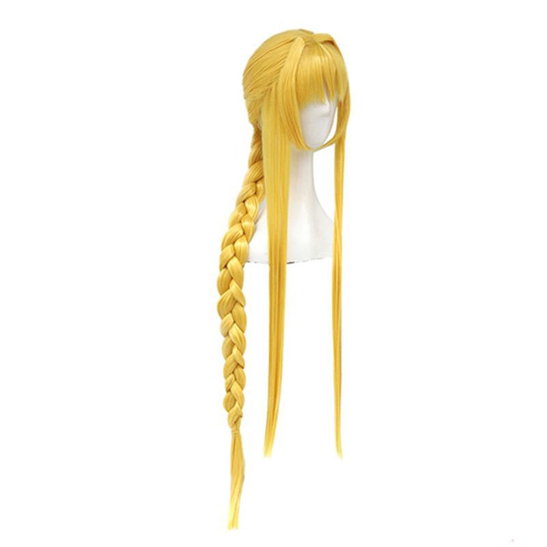 Anime SAO Sword Art Online Alicization Alice Zuberg Long Blonde Cosplay Wigs - Cosplay Clans