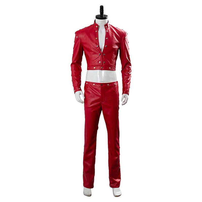 Anime The Seven Deadly Sins Ban Red Jacket Suit Cosplay Costume - Cosplay Clans