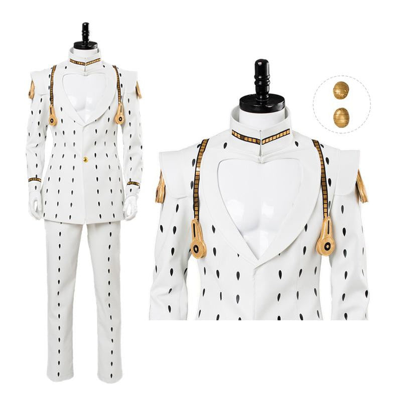 Anime JoJo's Bizarre Adventure Golden Wind Bruno Bucciarati Cosplay Costume - Cosplay Clans