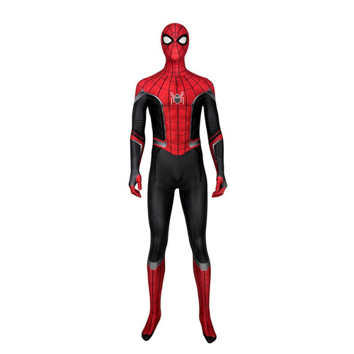 Movie Spider-Man: Far From Home Peter Parker Spiderman Cosplay Costume Jumpsuit - Cosplay Clans