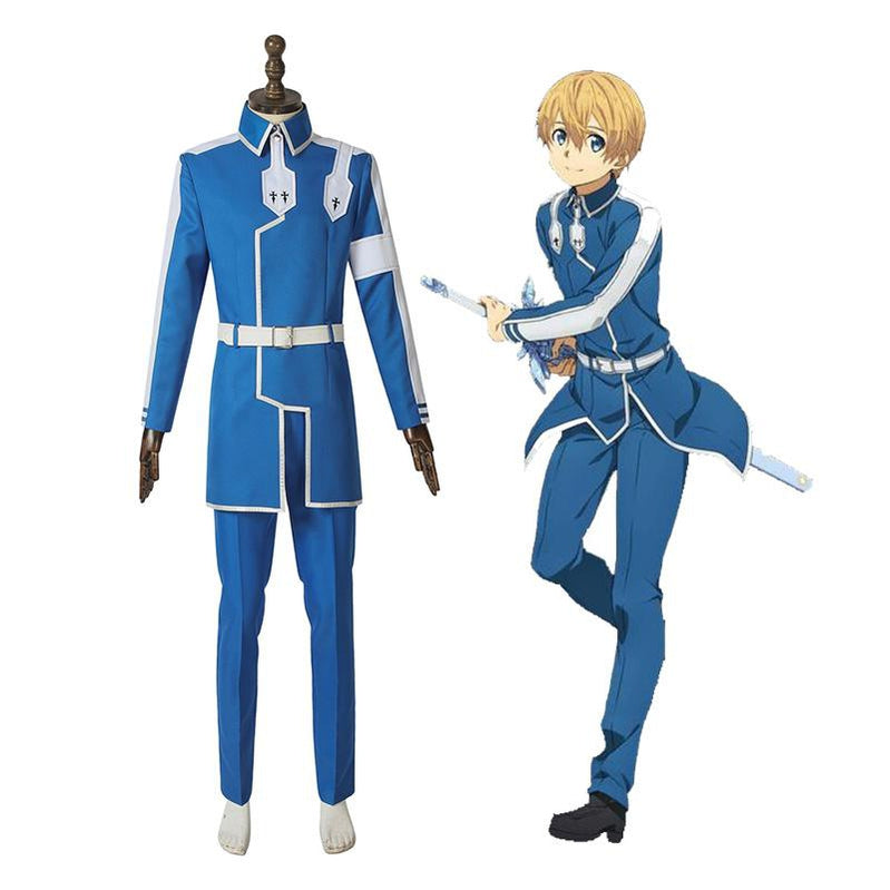 Anime Sword Art Online Alicization Under World Eugeo Cosplay Costume - Cosplay Clans
