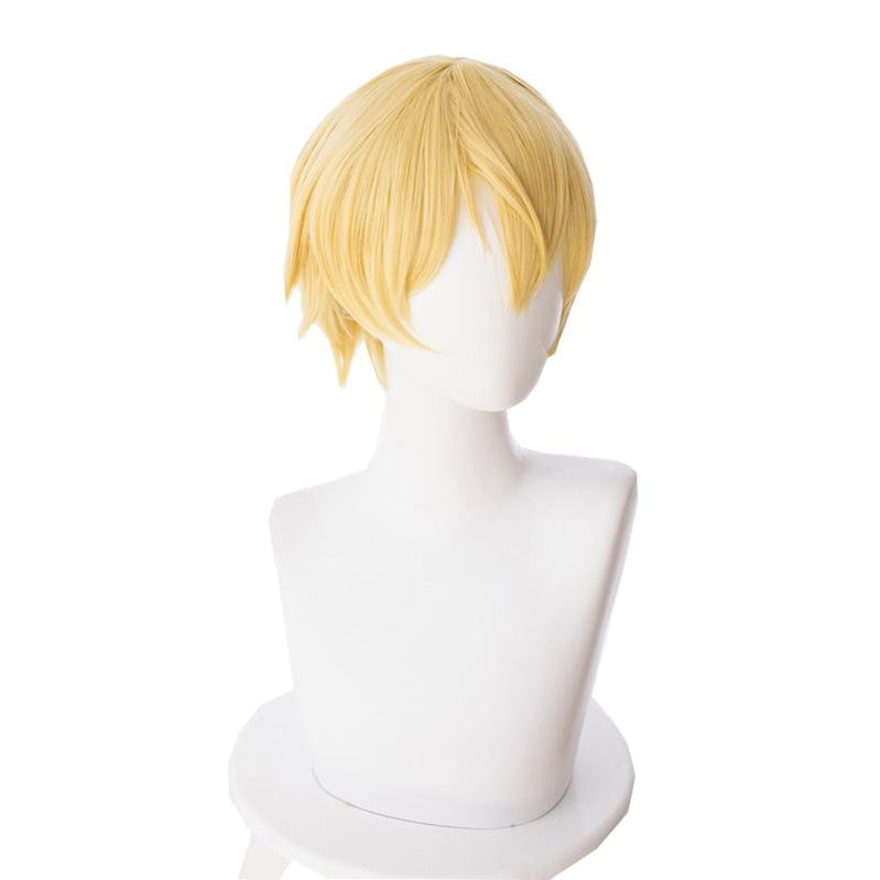 Anime Sword Art Online Alicization Under World Eugeo Short Blond Cosplay Wigs - Cosplay Clans