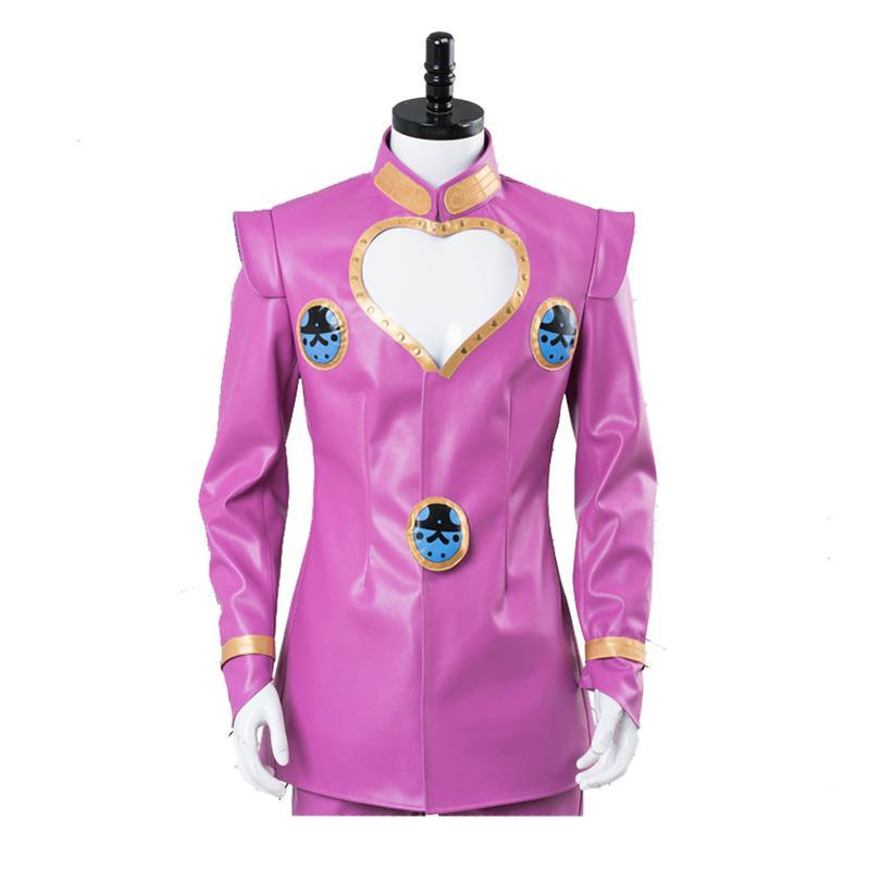Anime JoJo's Bizarre Adventure Golden Wind Giorno Giovanna Cosplay Costume - Cosplay Clans