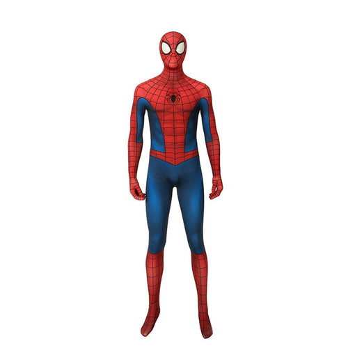 Spider-Man Elastic Force Jumpsuit Cosplay Costume with Free Headgear - Cosplay Clans