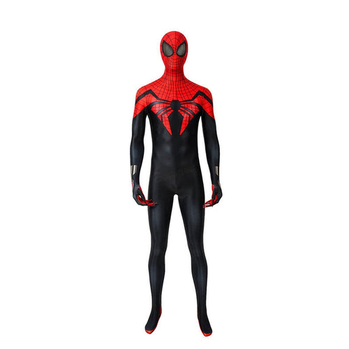 Anime Spiderman: Superior Spider Man Elastic Force Jumpsuit Cosplay Costume with Free Headgear - Cosplay Clans