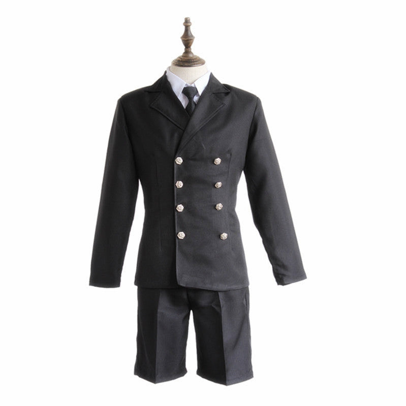 Anime Black Butler Ciel Phantomhive Funeral Cosplay Costume - Cosplay Clans